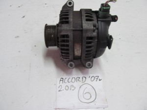 HONDA ACCORD VII 2007R 2.0B ALTERNATOR 104210-4731